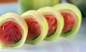 Sushi-Ginger-Cucumber-Roll